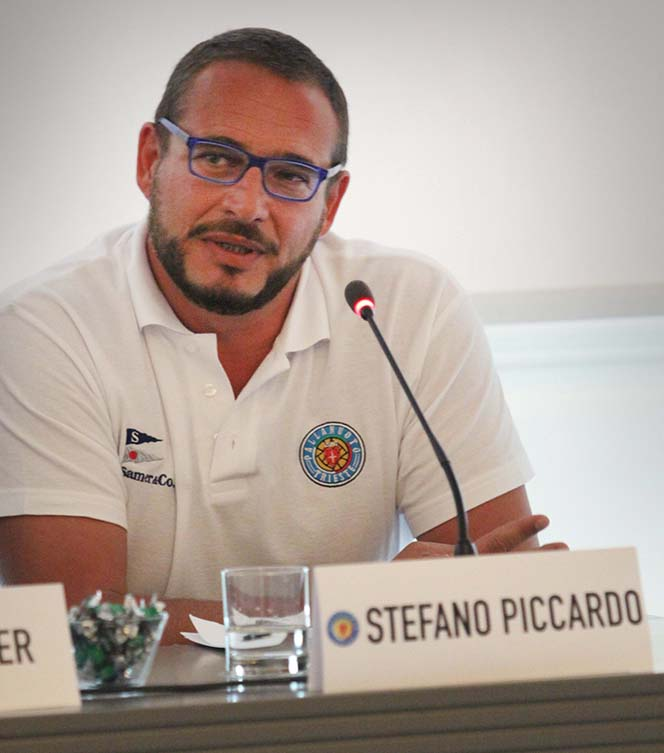 Pallanuoto Trieste: l'allenatore Stefano Piccardo prolunga il suo contratto con la società alabardata fino al 2020.