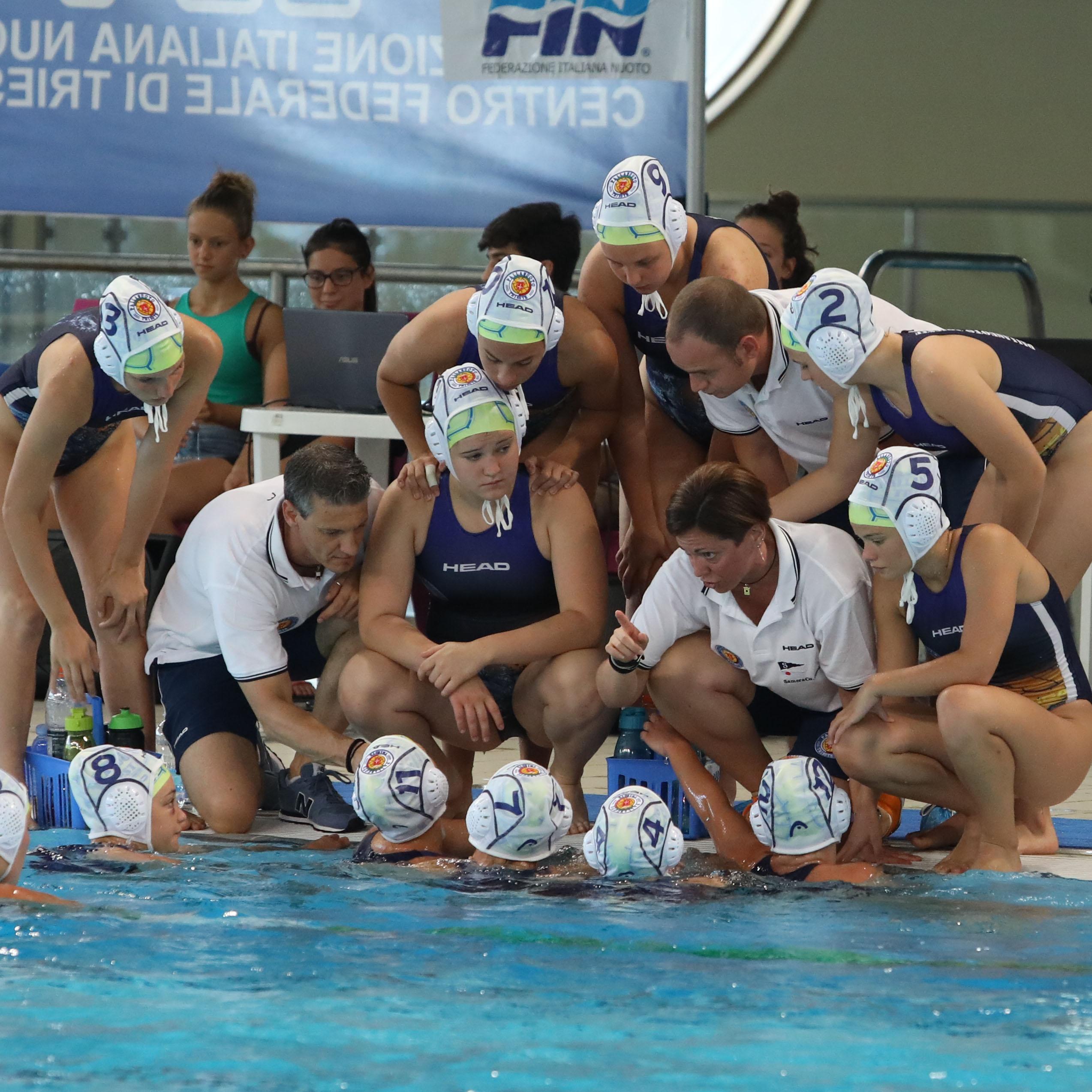 La Pallanuoto Trieste si arrende di misura al Bogliasco (7-8). Le liguri conquistano lo scudetto di categoria