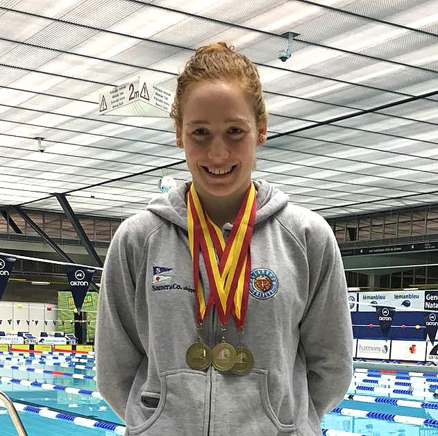 """Al """"Challenge International"""" di Ginevra arrivano 8 medaglie per gli scatenati nuotatori della Pallanuoto Trieste"""