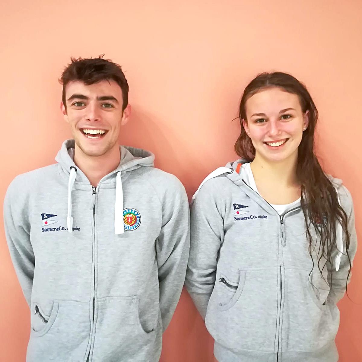 Due atleti della Pallanuoto Trieste ai Criteria. Roberta Antonione e Pietro Cirillo in gara a Riccione