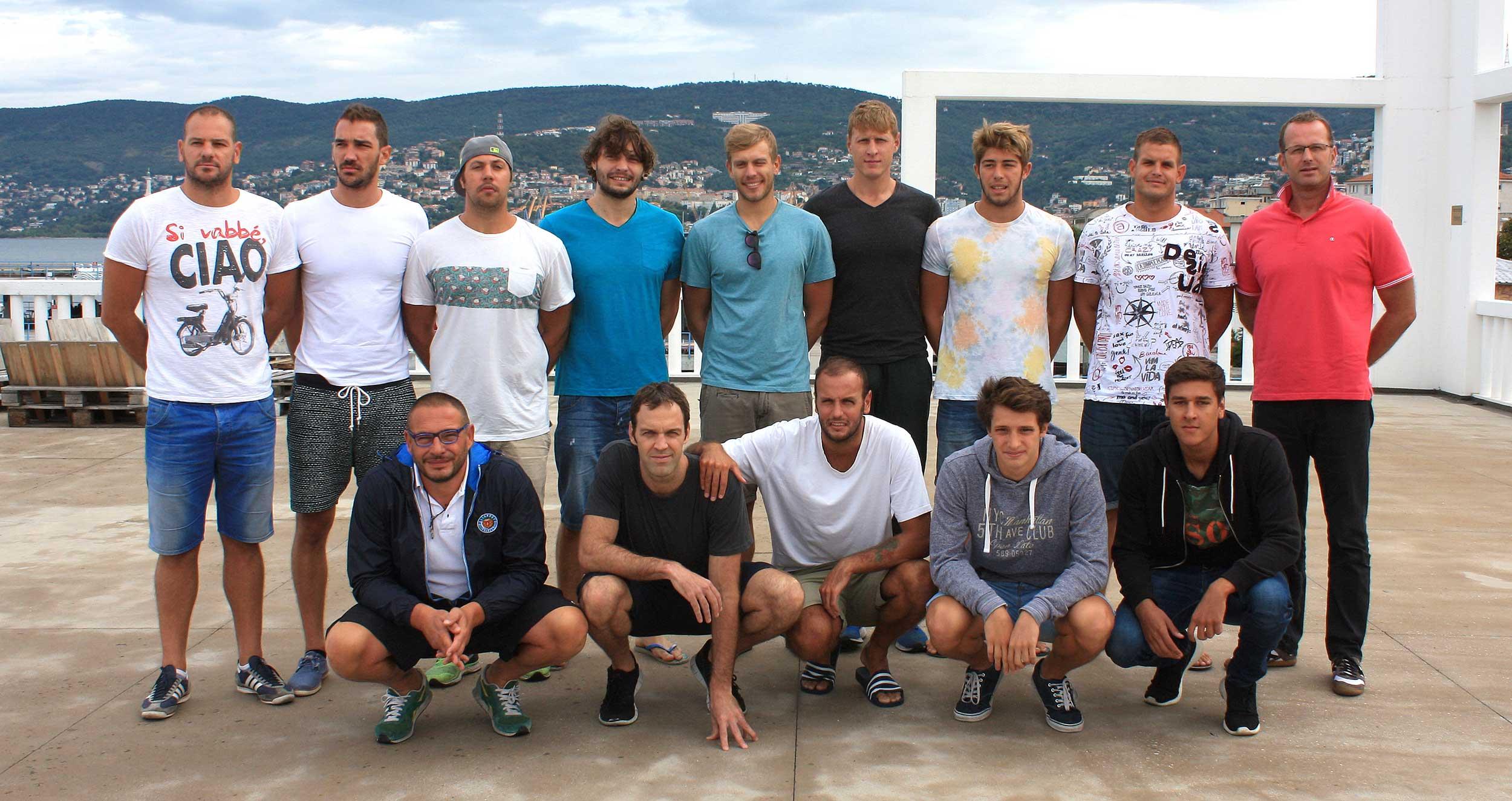 Parte la stagione 2015/2016 della Pallanuoto Trieste.