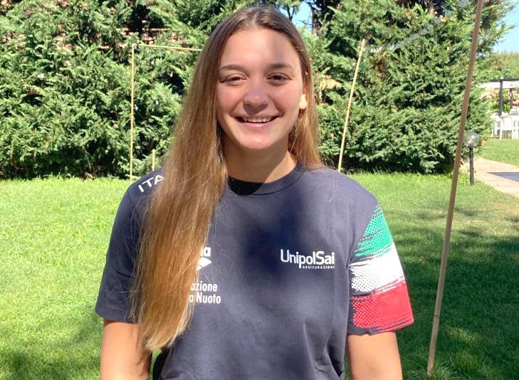 Grace Marussi con l'Italia all'Europeo U17 femminile di Sebenico
