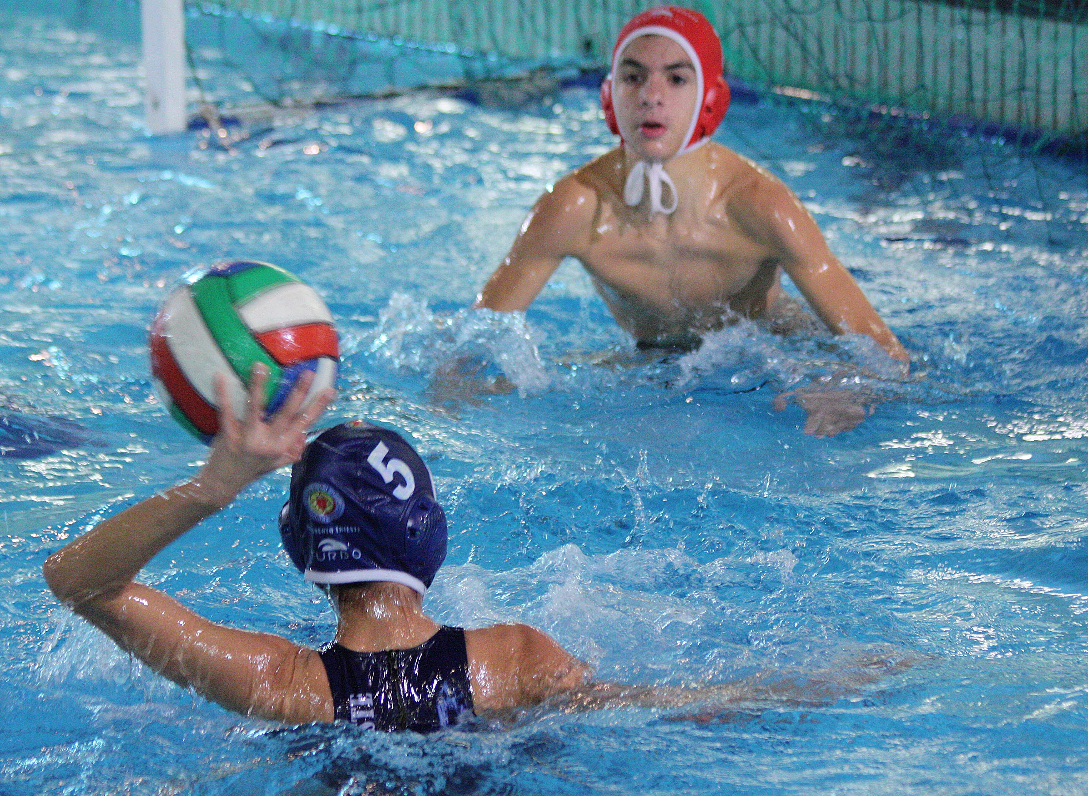 "Under 13: ""derby"" alabardato in Piscina di San Giovanni, vittoria per la squadra maschile"