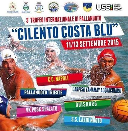 """La Pallanuoto Trieste chiude al sesto posto il torneo internazionale """"Cilento Costa Blu"""" con il bilancio di un pari e tre sconfitte."""
